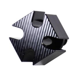 Iron Cross Seat Screw Bolt + Seat Tab Mount Knob Cover Set