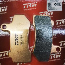 TRW BRAKE PADS FRONT & REAR, SINTERED