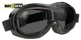 Airfoil 9311 Goggle - Day2Nite Grey/Black- Can Be Worn Over Eyeglasses