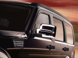 Dodge Nitro / Jeep Liberty Jeep Cherokee - Chrome Mirrors - Cap (2x)