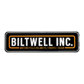 Biltwell INC. - Shop Sign - Metal - Street Sign Large