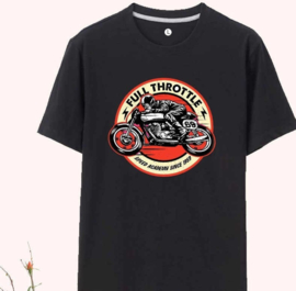 Full Throttle Speed Academy  T-shirt - Black 3XL - 4XL