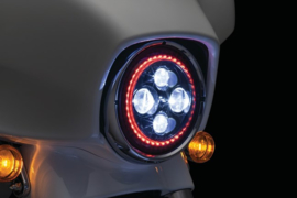 Orbit Prism L.E.D. Headlight with Bluetooth Controlled Multi-Color Halo