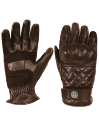Gloves - Tracker - (touch screen) John DOE - BROWN