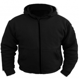 Protective Defense Hoodie - Black - Loose Fit - Para-Aramid!