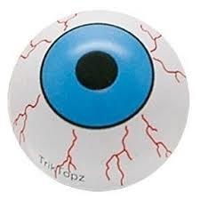 TrikTopz - Valve Caps - Blue EyeBalls