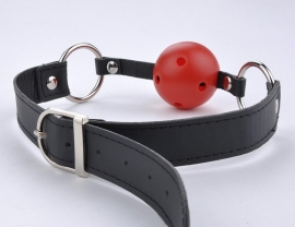 BREATHABLE BALL GAG (Red Ball)