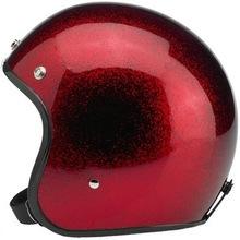 Indy-500 - Metalflake helmet - Fiberglass - Red