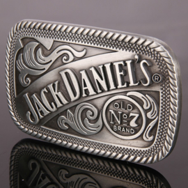 Belt Buckle - Jack Daniels - Square - Old No.7 Brand