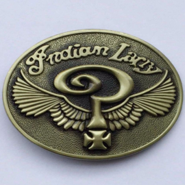 Brass Belt Buckle - Indian larry - Wings