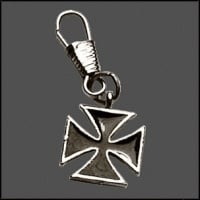 Zipper Pull - Maltese Cross