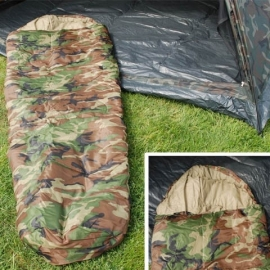 Sleepingbag Sniper Woodland Camouflage - 230cm