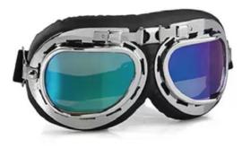 Goggles - RAF / Red Baron style - Iridium Lens
