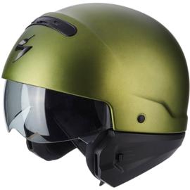 Scorpion Exo-Combat Helmet Matt Green - (streetlegal)