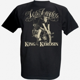 King Kerosin - Los Angeles T-shirt - XXL only - SALE!