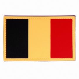 Patch - Flag België - (PVC-VELCRO)