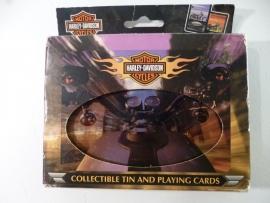 Harley-Davidson - Collectible Tin & Playing Cards