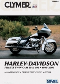 Book - Clymer Harley-Davidson FLH/FLT Twin Cam 88 and 103 1999-2005