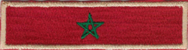 GOLDEN PATCH - Flash / Stick - Morrocon flag - drapeau Marocain - Marokko - le Maroc