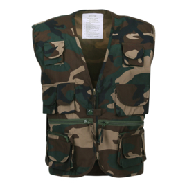 Vest - Reporter - Combat Camouflage