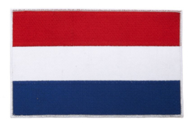LARGE BACKPATCH - Dutch Flag - Nederlandse vlag - Nederland - Holland - the Netherlands