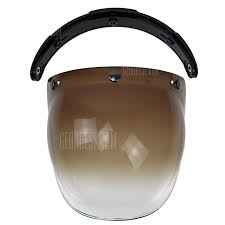 Bubble Visor - Smoke / Brown Gradient - Bubble Shield