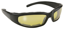 Sunglasses - Kickstart - padded sunglasses - RALLY - Yellow/Black by KD's