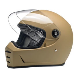 Biltwell - Lane Splitter Helmet - FLAT COYOTE TAN (ECE)
