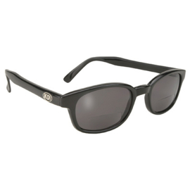 Sunglasses with Reading Lenses - Classic KD's - Smoke - READERZ 2.00