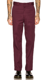 Dickies Original 874 Work Pants - Maroon 31/32