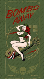 Lethal Threat Bombs Away Pinup - Tube Scarf