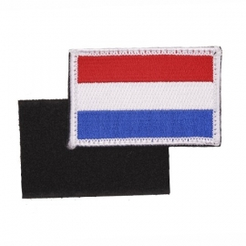 VELCRO PATCH - Dutch Flag - vlag Nederland - Holland - the Netherlands