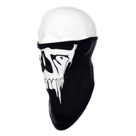 Velcro Skull Jaw Mask - Tridana Cotton