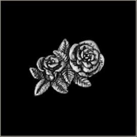 P207 - Pin - Couple of Roses (small)