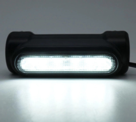 Highway Bar Lights - 12 LED - Black Coated