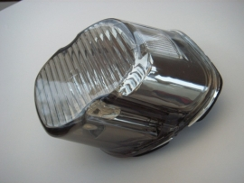 Harley-Davidson - Laydown Taillight Lens, SMOKE - TOP TAG WINDOW - 99-E03