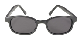Sunglasses - Classic KD's - Smoke - FLAT black frame