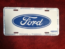 FP107 - Funny Plate - Ford Logo
