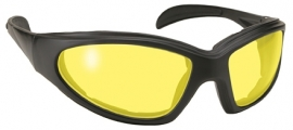 Sunglasses - Kickstart - Chopper - Yellow/Black by KD's