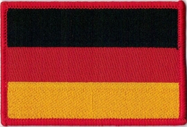 050 - PATCH - German flag - Deutsche Flagge - Germany - Deutschland - [medium]
