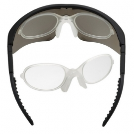 SWISSEYE RAPTOR - removable clip adapter for prescription lenses
