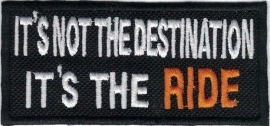 320 - Patch - It's Not The Destination, It's The RIDE