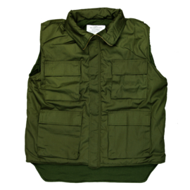 PADDED VEST M-89 GREEN - END OF STOCK
