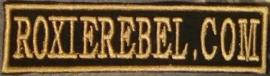 305 - PATCH - Golden Stick - RoxieRebel.com