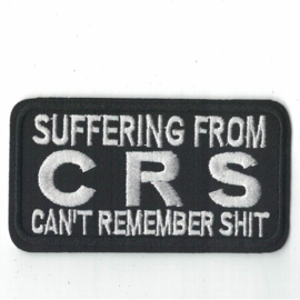 PATCH - Suffering from CRS - CAN'T REMEMBER SHIT