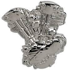 P115 - Pin - Harley-Davidson Knucklehead Engine
