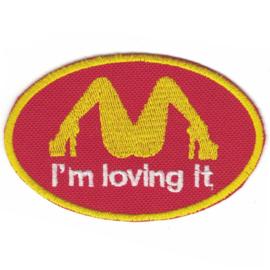 Patch - Mc Donalds style - I'M LOVING IT