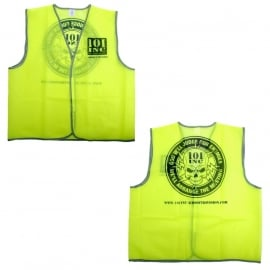 Reflective Safety Vest - Security - God will judge our enemies