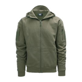 Tactical Hoodie with YKK zipper - Ranger Green