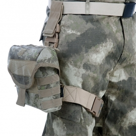 Hip / Leg Bag - Black /  Camouflage